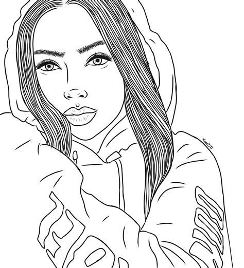 Coloring Foto by Freetoedit Drawing Outlines Linesart Outline Tumbl