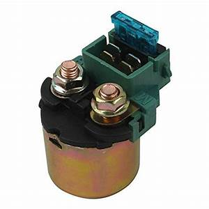 Xfmt Starter Relay Solenoid Motorcycles Replacement Fits For