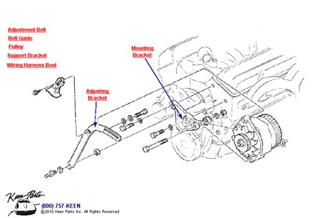Small Block Chevy Wiring Diagram 1981 by 1980 Corvette Small Block Alternator Parts Parts