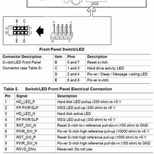 Dell Power Switch Pinout
