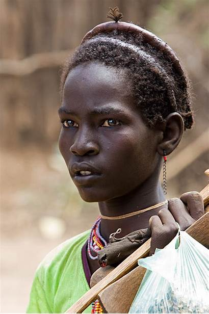 Tribe African Africa Boy Dassanech Ethiopia South