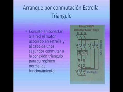 accionamiento con arranque estrella triangulo youtube