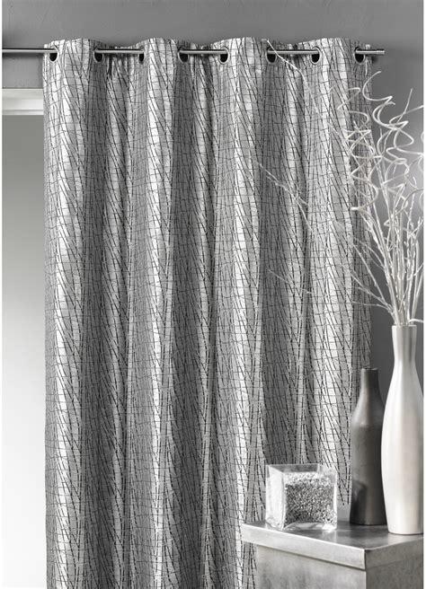 double rideaux gris rideaux design