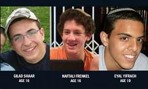 Authorities Find Bodies of Abducted Israeli Teens North of ...