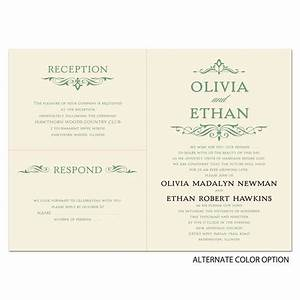 simply stylish separate and send invitation ann39s bridal With wedding invitations separate and send