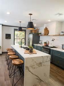galley kitchen renovation ideas cosentino usa dekton aura featured in hgtv s fixer