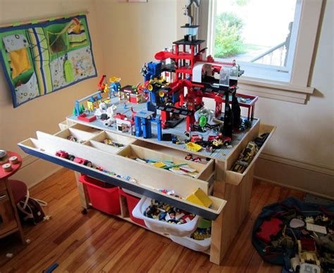 25 best ideas about lego table with storage on