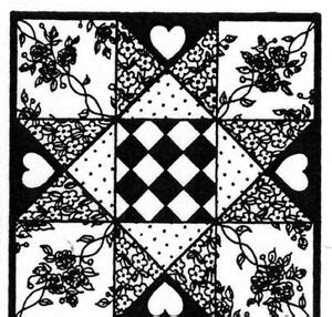 unmounted rubber stamps quilts quilt stamp sewing  pc