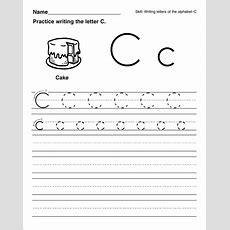 Trace The Letter C Worksheets  Activity Shelter  Kids Worksheets Printable Pinterest