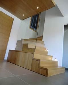 Marche Bois Escalier : garde corps bois escalier ~ Premium-room.com Idées de Décoration