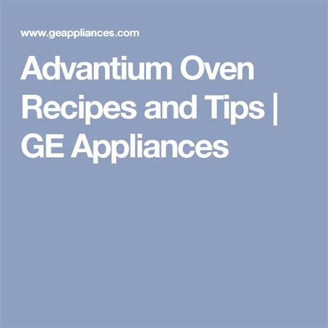 advantium oven recipes  tips ge appliances advantium oven advantium oven recipes