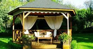 Construire Une Pergola En Bois : emejing construire une tonnelle de jardin ideas design ~ Premium-room.com Idées de Décoration