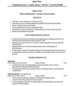 resume templates for canada canadian resume layout