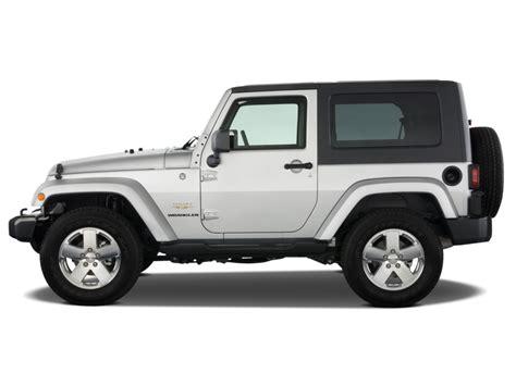 wrangler jeep 2 door image 2008 jeep wrangler 4wd 2 door sahara side exterior