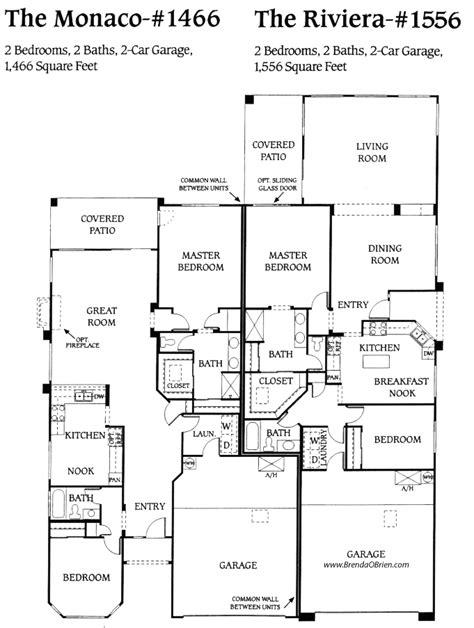 saddlebrooke floor plan riveria model
