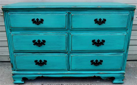 How To Paint Distressed Furniture Black by Colorful Distressed Furniture Interesting Ideas For Home