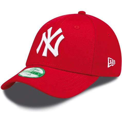Pakai topi new era stickernya tidak dilepas ny yankees baseball cap moma design store 5 cara jitu menyimpan pisang agar tidak dapatkan diskon topi new era hanya di bukalapak. New Era Curved Brim Youth 9FORTY Essential New York Yankees MLB Red Adjustable Cap: Caphunters.com