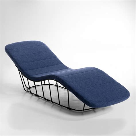 chaise longue la redoute nouvelle tendance déco les meubles grillage en métal