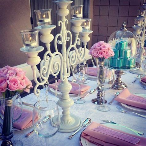 pretty  pink  tiffanys inspiration bridal shower