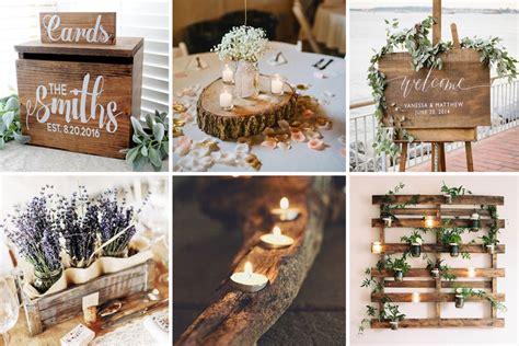 storage organizer 14 oryginalnych pomysłów na ślubne dekoracje z drewna