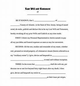 last will and testament form pdf With downloadable will template