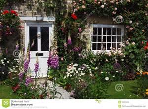 country cottage plans jardin anglais de maison photo libre de droits image