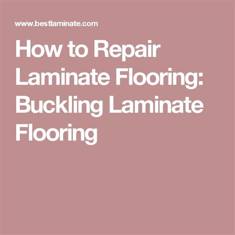 how to restore laminate flooring best 25 laminate flooring fix ideas on pinterest installing laminate flooring installing