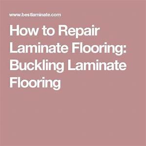 Peste 25 dintre cele mai bune idei despre laminate for How to fix buckling hardwood floors