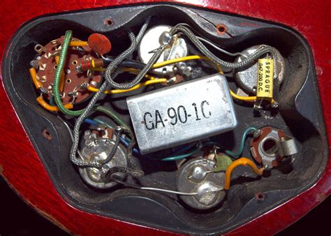 Gibson Eb3 Bas Wiring Diagram by Early 1960s Gibson Eb3 Circuit Image Series 1 Gt Gt Flyguitars