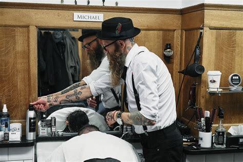 midtown barbers chrysler building  barbershop