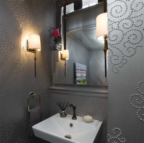 ideas for small bathrooms makeover ideas for a bold and beautiful powder room