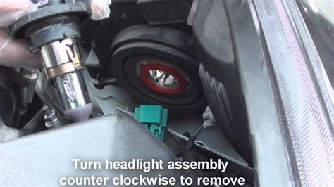 how to replace headlight chevy cruze