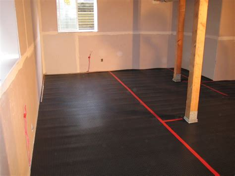 Superseals All In One Subfloor Installation In A Basement