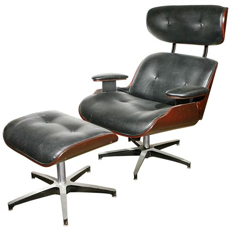 Selig Lounge Chair Base by Lounge Chair And Ottoman In The Eames Style By Selig At