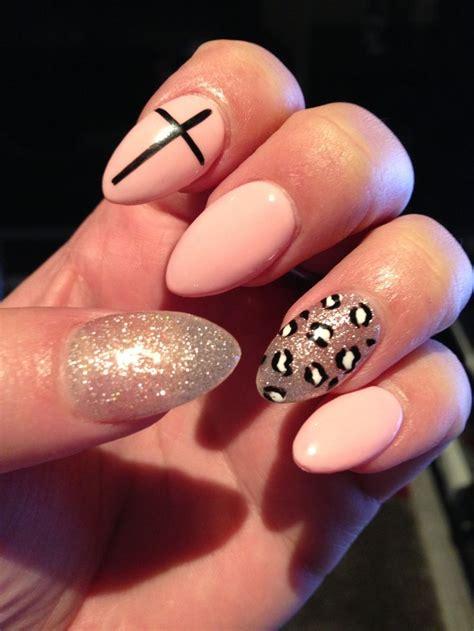 fancy pants almond shaped nails nail arts pinterest