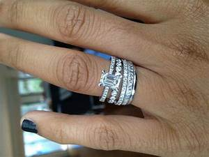 mixed stacking rings opinions please weddingbee stacked With stacked wedding rings weddingbee