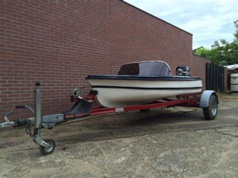Speedboot Pk by Speedboot Trailer 35 Pk Mercury Bb Motor Advertentie 463381