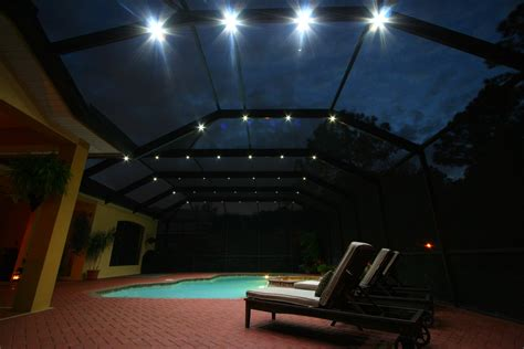pool enclosure lighting pool enclosure lighting lighting ideas
