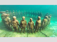 Diving into Magic at The Molinere Underwater Sculpture