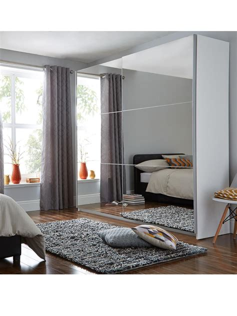 Big Bedroom Wardrobes by Universal Large Sliding Door Mirrored Wardrobe Wardrobes