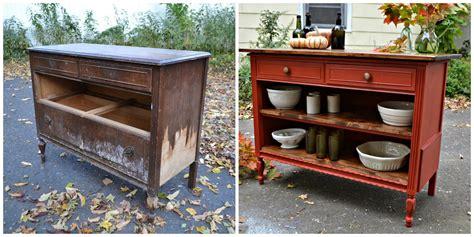 Old Dresser ...kitchen Island