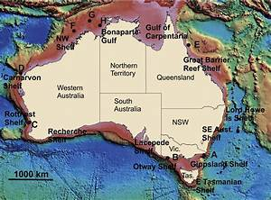 A Digital Elevation Model Of The Australian Continental