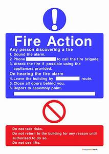 Daily Blood Pressure Chart Fire Action Signs Poster Template