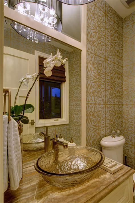Luxury Living   Traditional   Powder Room   Calgary   by