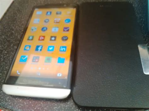 clean bbz30 lastest bb os and has playstore installed on