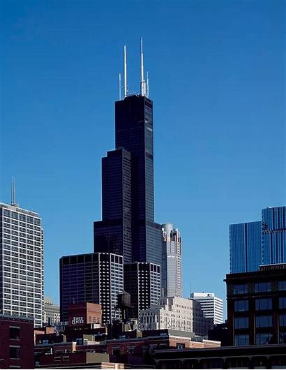 Willis Tower Chicago Illinois Sears Skydeck Culture