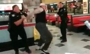 Man tasered multiple times by cops but won't go down ...