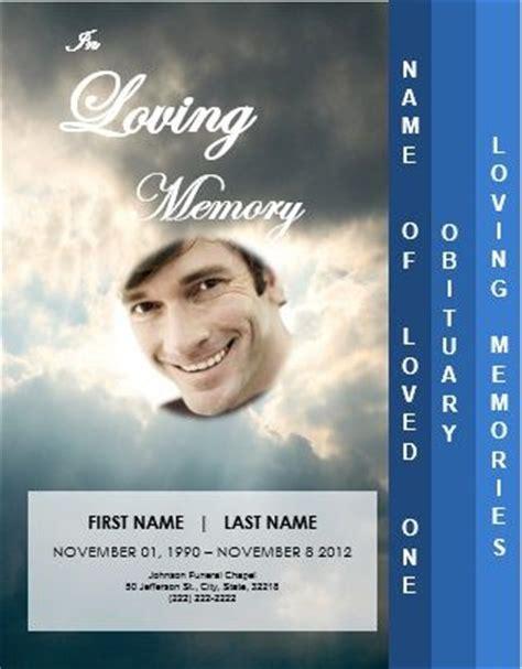 memorial services funeral  leaflets  pinterest