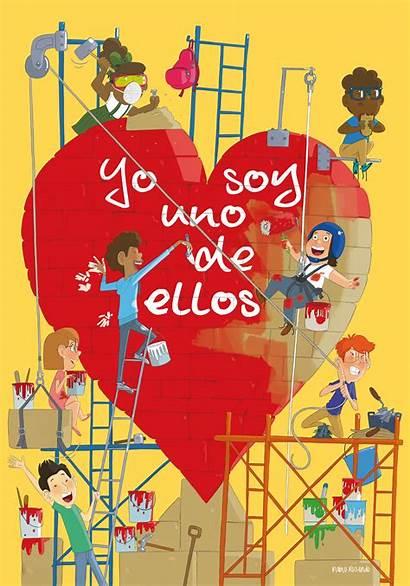 Infancia Misionera Diversidad Cultural Cartel Imagenes Ellos