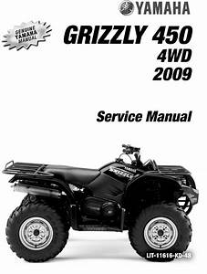 2009 Yamaha Grizzly 450 Full Factory Service Manual
